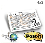Post It Note: What If (Pad of 25 Sheets) 4