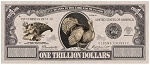 Turkey Trillion Dollar Billl Gospel Tract -100 per pack