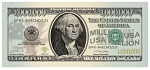 Million Dollar Bill: President Washington (100 ct. pckg)