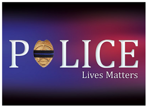 "Police Lives Matter Gospel Tract - 50ct (2.5""x3.5"")"