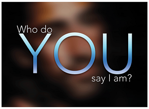 """Who Do You Say I Am"" Gospel Tract - 50ct (2.5""x3.5"")"