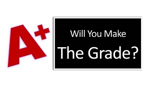 "Will You Make The Grade? - Gospel Tract (2"" x 3-1/2"")"