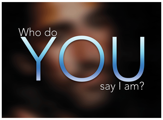 Who Do You Say I Am Gospel Tract - 100ct (2x3.5)