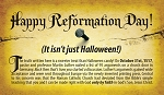 Reformation Day Gospel Tract  - 100ct pckg (2 x 3-1/2)